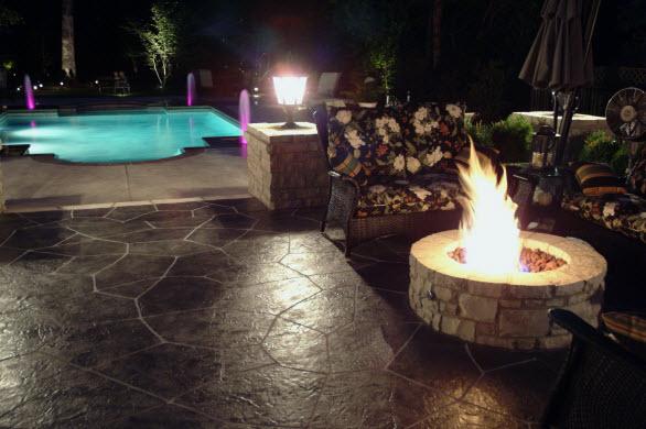 brandywine,PA pool deck